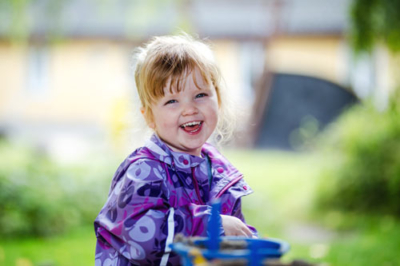 Børnehavebarn fotograferet af Små Minder
